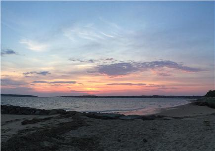 Wellfleet Cape Cod vacation rental - Sunset on the bay