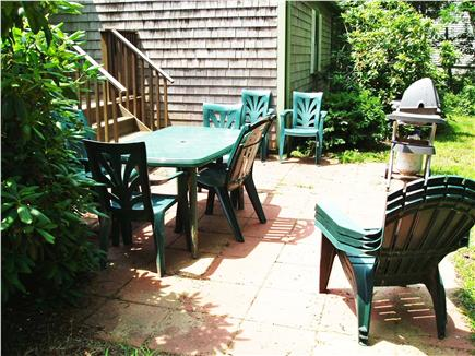 Harwich Cape Cod vacation rental - Back Patio