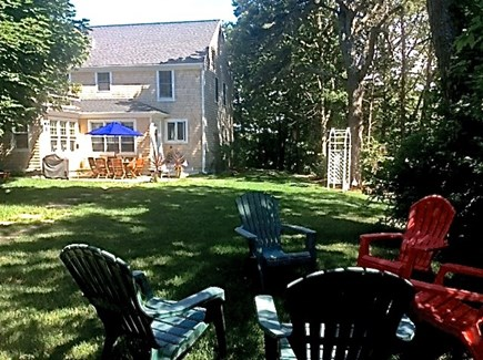 Harwichport Cape Cod vacation rental - View from yard