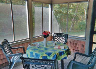 Brewster Cape Cod vacation rental - Sunny, private screened porch