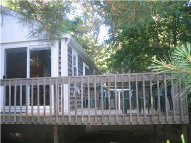 South Chatham Cape Cod vacation rental - Deck area