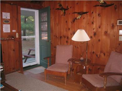 South Chatham Cape Cod vacation rental - Entry to living area