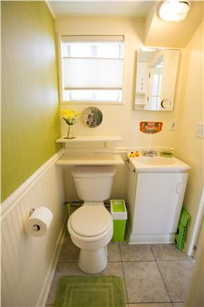 Provincetown Cape Cod vacation rental - Bathroom with shower.