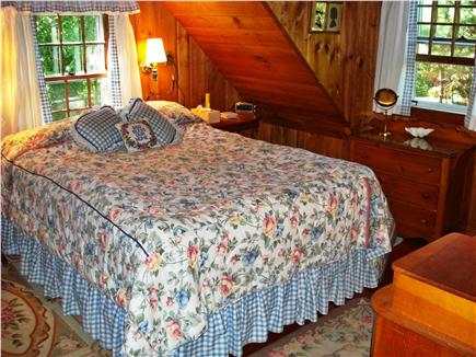 Woods Hole Woods Hole vacation rental - The 1st Comfortable Queen Bedroom surrounds you with Flowers