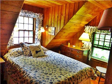 Woods Hole Woods Hole vacation rental - The 2nd Queen Bedroom is Cozy with its Blue Seashells Theme