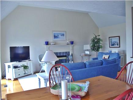 Lewis Bay,West Yarmouth Cape Cod vacation rental - Comfortable Living room with large screen TV and views of the BAY