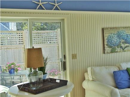 Lewis Bay,West Yarmouth Cape Cod vacation rental - Family room and Deck with views of Lewis Bay