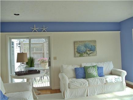 Lewis Bay,West Yarmouth Cape Cod vacation rental - Family rm. to relax,read,or enjoy quiet time, MV ferries+Bay view