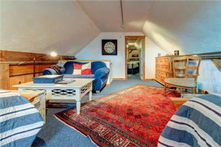 Chatham Cape Cod vacation rental - Large bedroom with couch, games and two queen beds