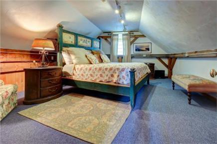 Chatham Cape Cod vacation rental - Comfortable master bedroom with king sized bed and writing desk