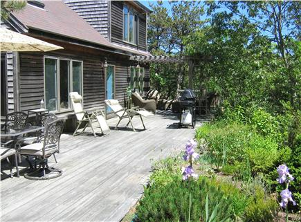 Truro Cape Cod vacation rental - South Facing Deck w/ Views, Furnishing and Hot Tub