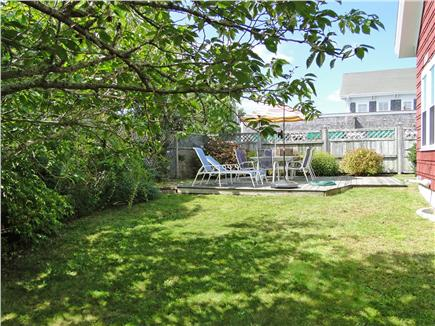 Chatham Cape Cod vacation rental - Play in the back yard