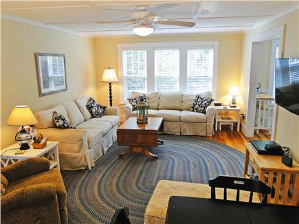 Chatham Cape Cod vacation rental - Large living room with flat screen TV, comfortable couches