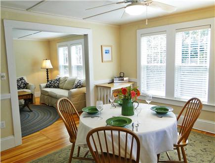 Chatham Cape Cod vacation rental - Dining room, adjacent to living room and kitchen