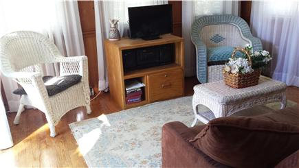 West Yarmouth Cape Cod vacation rental - Sunroom with futon for extra double bed