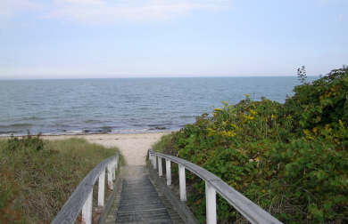 Brewster Cape Cod vacation rental - Short stroll to the bay side beach
