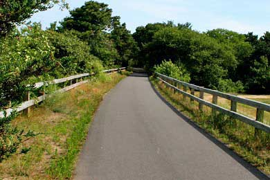 Brewster Cape Cod vacation rental - Paved and picturesque bike path