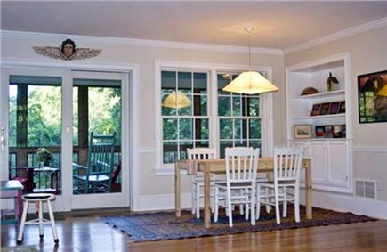 Wellfleet Cape Cod vacation rental - Dining room - table extends