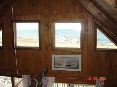 Plymouth  (White Horse Beach) MA vacation rental - Water view  from loft