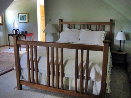 West Dennis Cape Cod vacation rental - Second Master Suite with full bathroom, HD TV - separate stairway