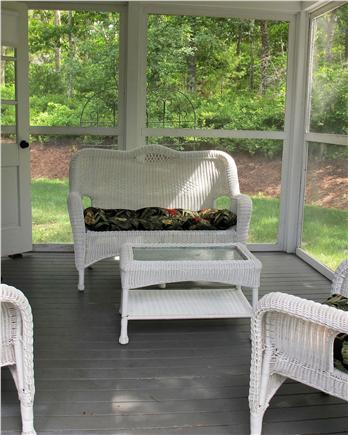 Chatham Cape Cod vacation rental - Screened in Porch