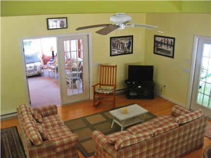 Wellfleet Cape Cod vacation rental - Great room in attached wing