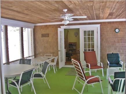 Wellfleet Cape Cod vacation rental - Screened Porch