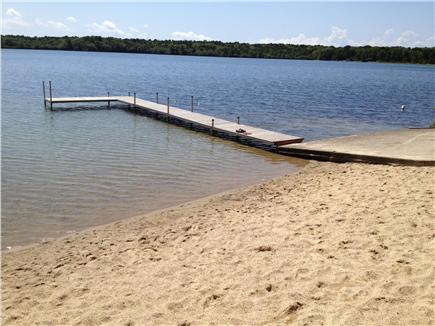 Brewster, The Highlands Cape Cod vacation rental - Walk 10 minutes to lovely Seymour Pond, swim and boat