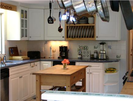 Brewster, The Highlands Cape Cod vacation rental - Gourmet Corian & stainless kitchen, fully equipped
