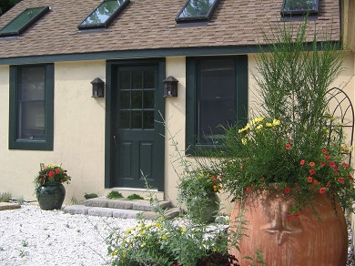 Chatham Village Cape Cod vacation rental - Quiet path leads to front entrance
