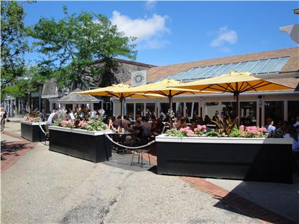 New Seabury (Mashpee) New Seabury vacation rental - Outdoor lunch at Bobby Byrnes at the Commons