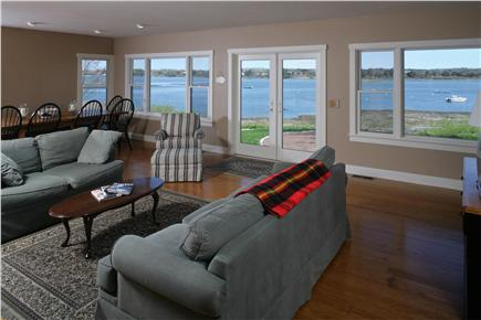 Oyster Pond/Chatham Cape Cod vacation rental - Living and Dining room with a view