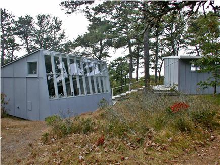 Wellfleet Cape Cod vacation rental - Studio and stairs to house