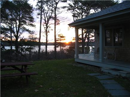 Eastham Cape Cod vacation rental - Sunrise over Great Pond