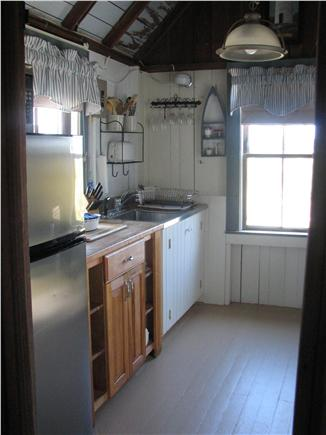 Truro - Corn Hill Cape Cod vacation rental - Kitchen - viewed from dining room