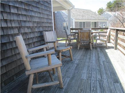 Wellfleet Cape Cod vacation rental - Private Deck
