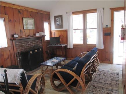 Wellfleet Cape Cod vacation rental - Fireplaced Sitting Area