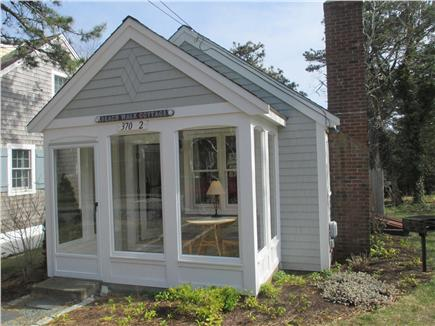 Wellfleet Cape Cod vacation rental - Three season porch with table and chairs
