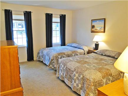 Eastham - Herring Pond Cape Cod vacation rental - Bedroom with two double beds