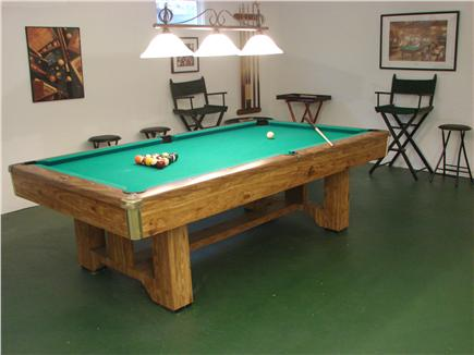 East Falmouth Cape Cod vacation rental - Clean and spacious basement rec room