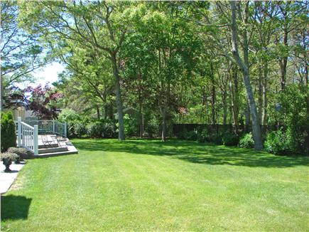 East Falmouth Cape Cod vacation rental - Large fenced in backyard, great for children to play
