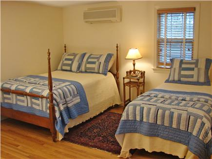 East Falmouth Cape Cod vacation rental - Upstairs bedroom with full bed, twin bed and flat screen TV