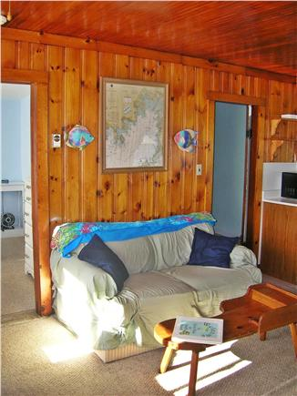Swift's Beach, Wareham MA vacation rental - Living Room with fold out and water view