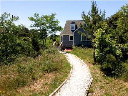 Truro Cape Cod vacation rental - Cottage is set back from road; quiet setting