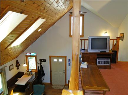 Hyannis Cape Cod vacation rental - Loft has bead-board cathedral ceiling & 2 large skylights