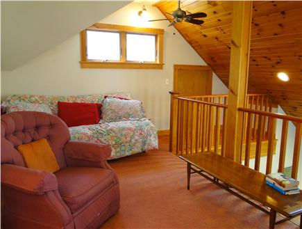 Hyannis Cape Cod vacation rental - Loft area with futon/couch & full size bed option, TV