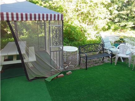 Hyannis Cape Cod vacation rental - Outdoor Gazebo -just a step out your front door (screened)