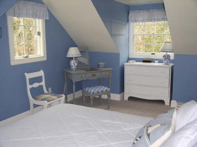 Harwich Cape Cod vacation rental - Blue Bedroom with Queen Bed