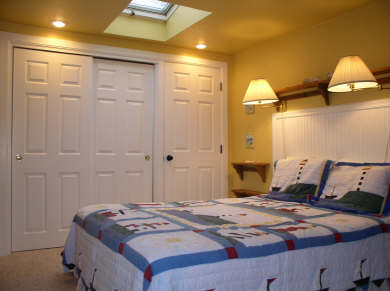 Harwich Cape Cod vacation rental - Yellow Bedroom with Queen Bed