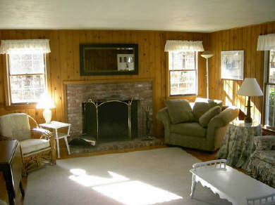 West Dennis Cape Cod vacation rental - Spacious front living room - one of two living areas
